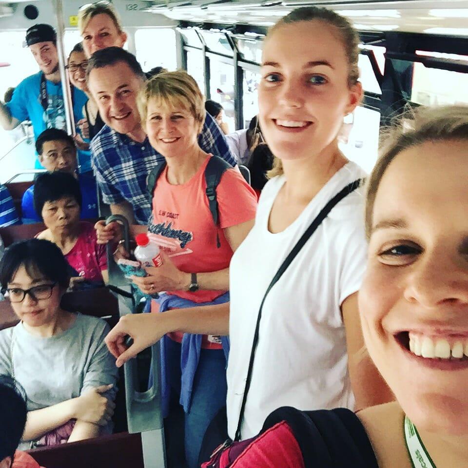 Group Tram Ride Hong Kong Tours