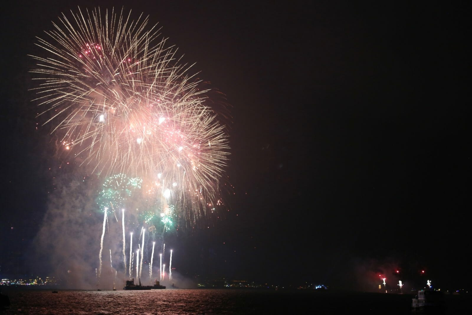 Hong Kong Fireworks Cruise