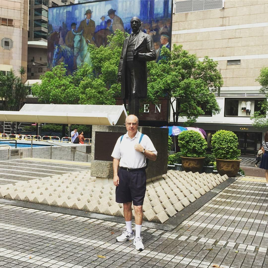 HSBC Statue Square Thomas Jackson