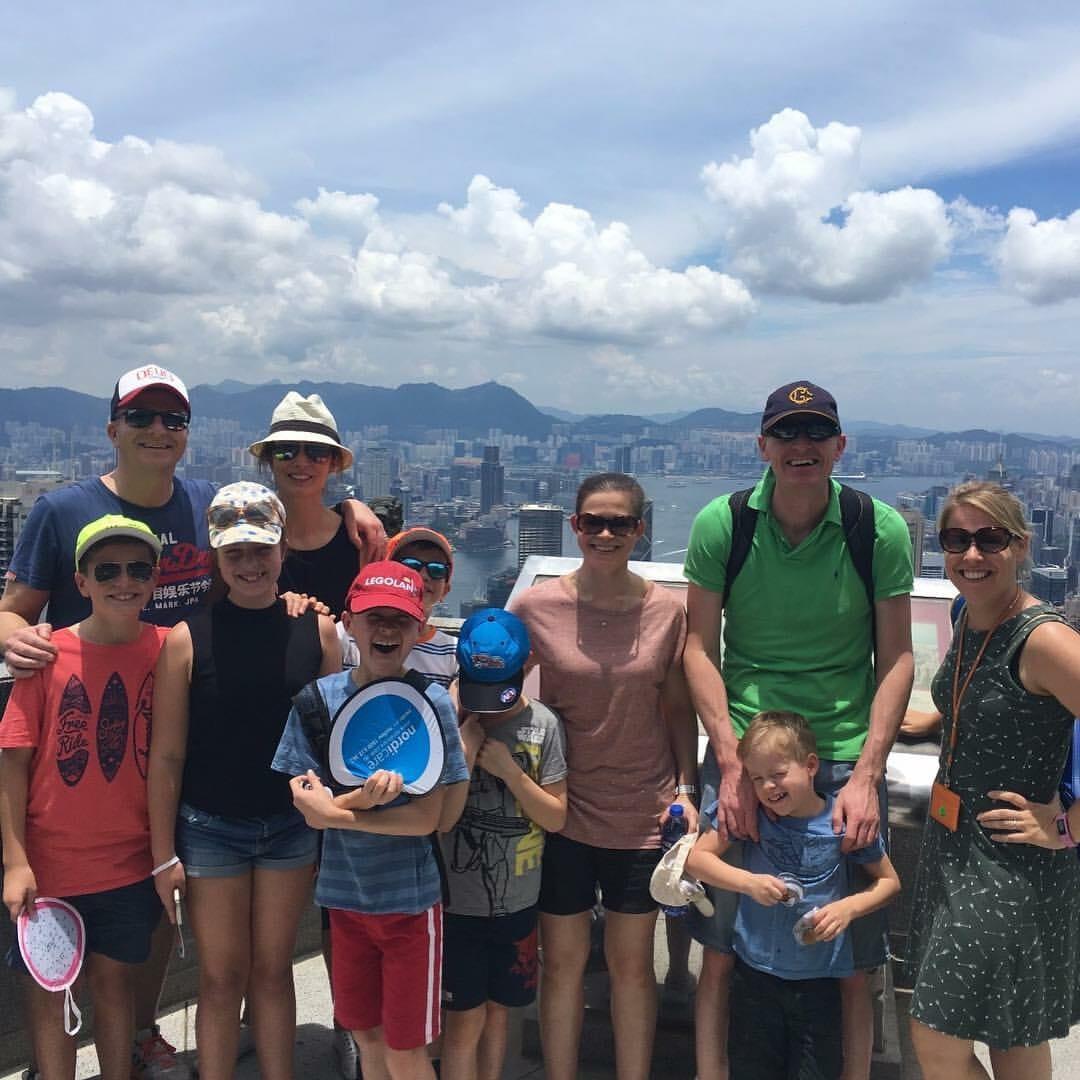 Touring Hong Kong Panorama