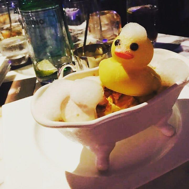 rdbozone rubber duck rum baba