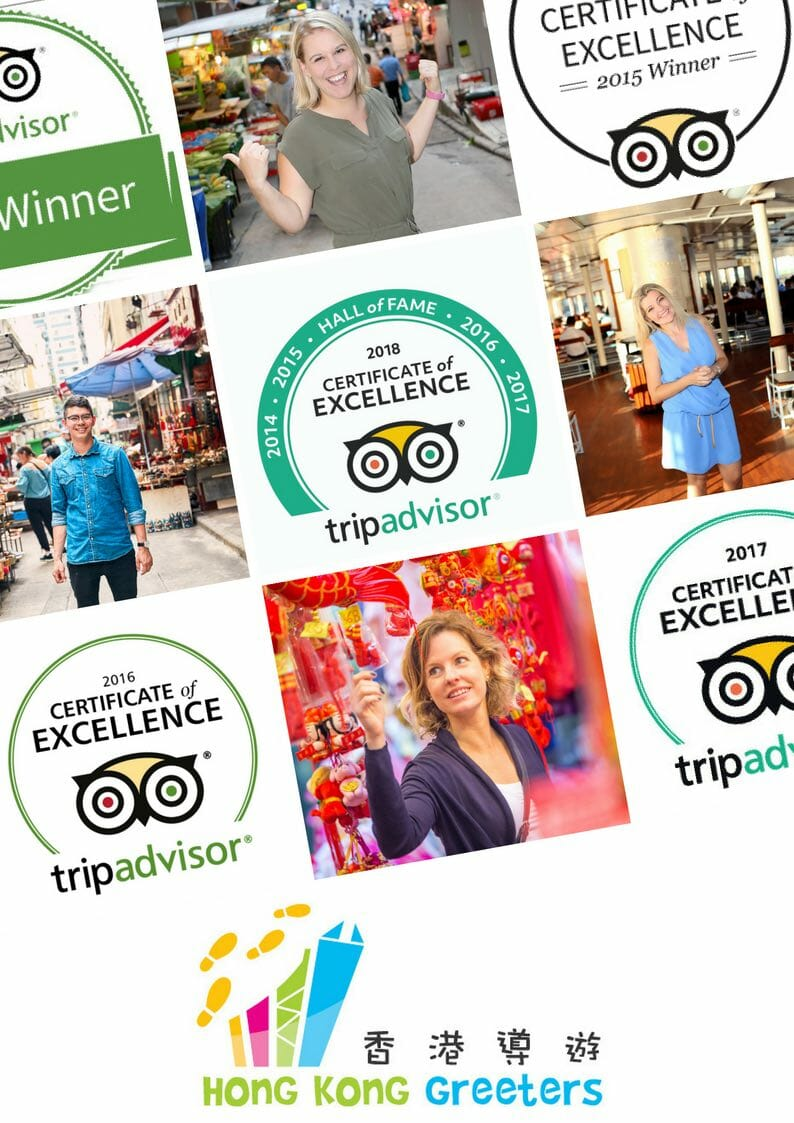 Hong Kong Greeters Tripadvisor Hall of Fame