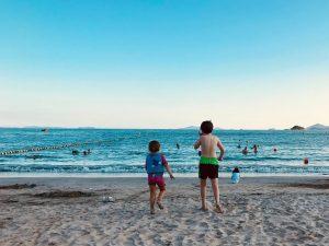 top trips for families Lantau Lower Cheung Sha Beach
